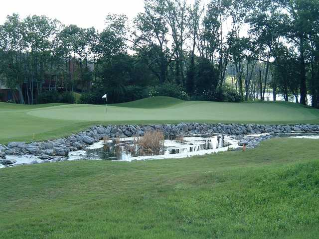 A view of a hole at Oasis Golf Club & Conference Center