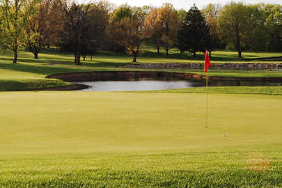 A view of a hole at Fairfield Greens Golf Club