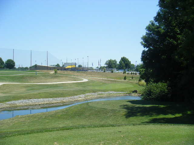 A view from the 16th tee at World of Golf