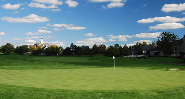 A view of a green at Wetherington Golf & Country Club.
