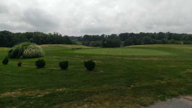 A view of a green at Country View Golf Course
