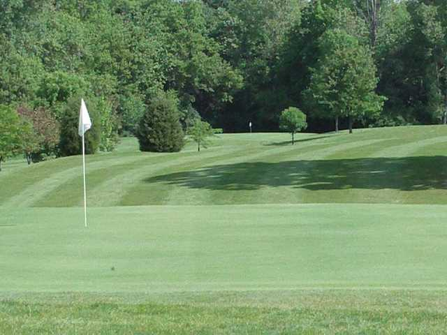 A view of a hole at Cliffside Golf Course