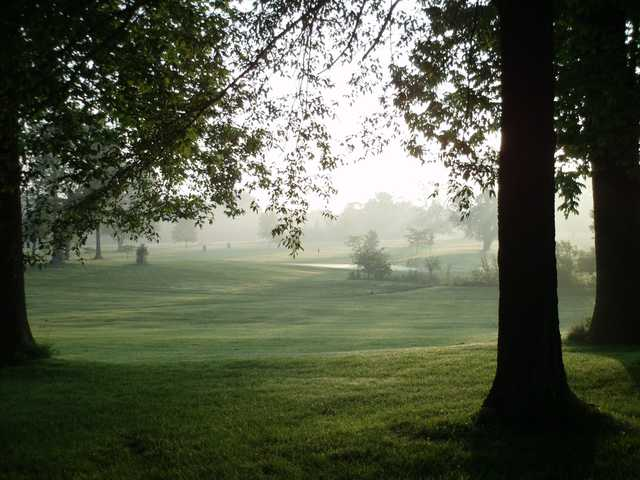 A view from Cliffside Golf Course