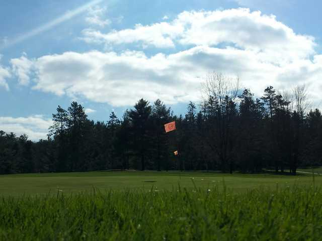 A view of the 8th green at Caledonia Golf Club