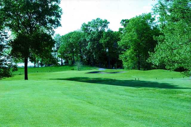 A view from Cedar Lake Golf Course