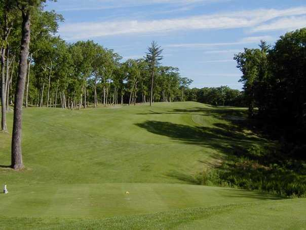 A view from a tee at Cyprian Keyes Golf Club