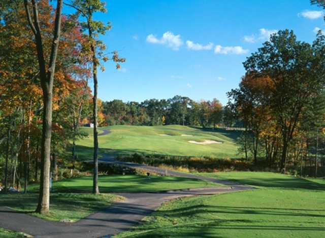 A fall view from Cyprian Keyes Golf Club