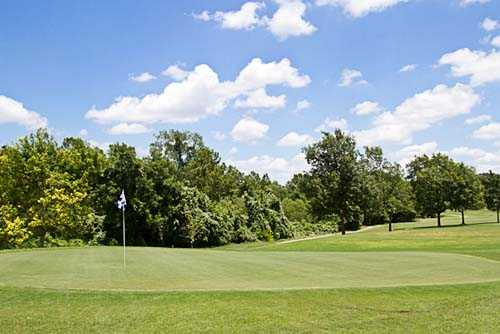 A view of a green at Georgetown Country Club