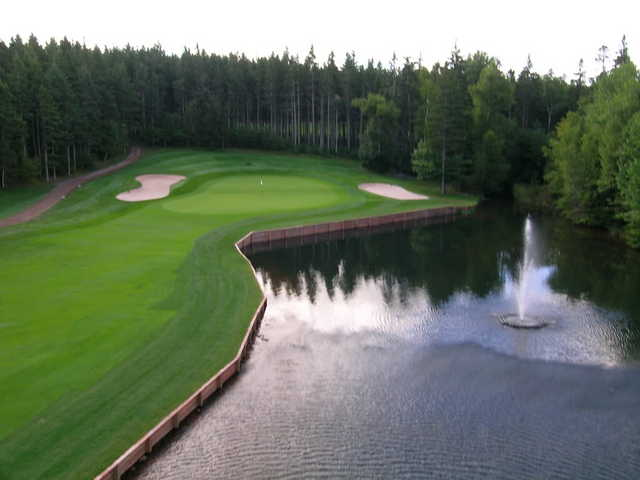 Mill River GC: Aerial view