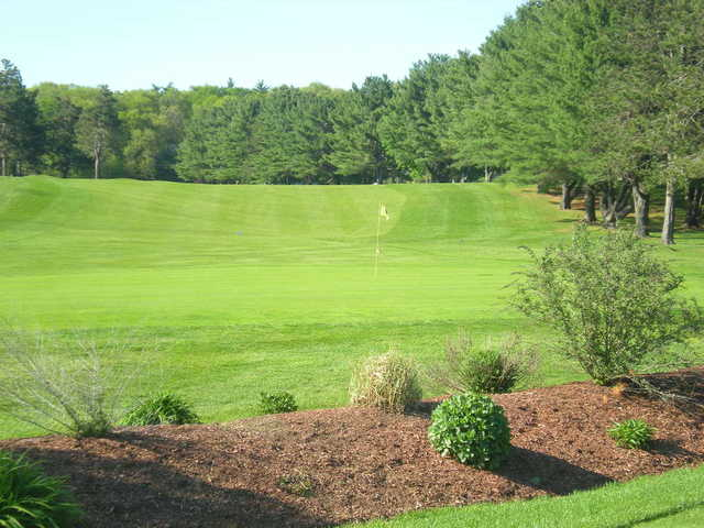 A view of the 8th hole at Hopedale Country Club