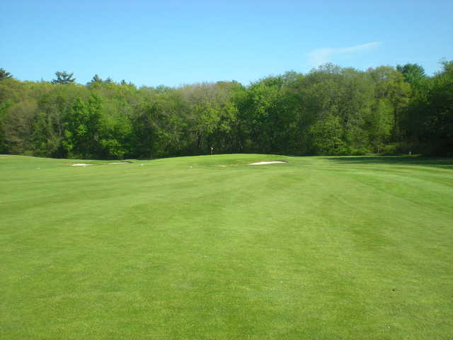 A view from a fairway at Hopedale Country Club