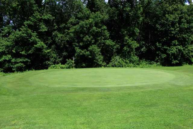 A view of a hole at Vineyard Valley Golf Club