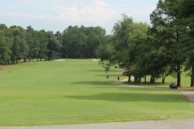 A view from tee #10 at Bonnie Brae Golf Course