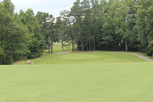 A view of the 6th green at Bonnie Brae Golf Course