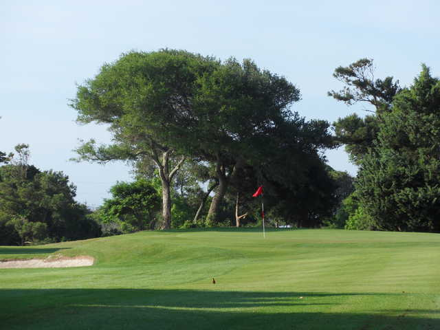 A view of the 1st hole at the Crystal Coast Country Club