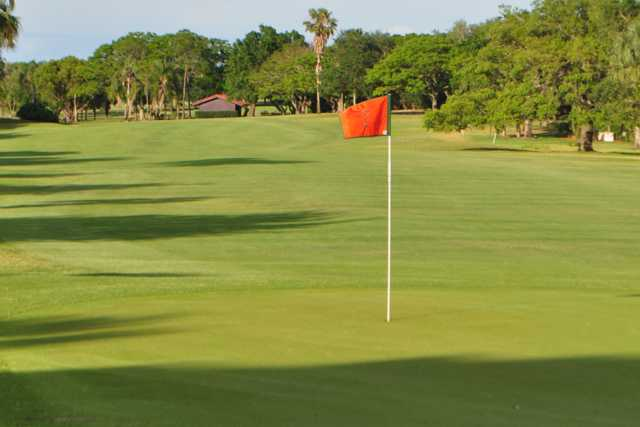 A view of a hole at Lake Wales Country Club