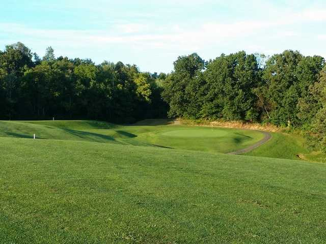 A view of green #5 at Green Valley Golf Club