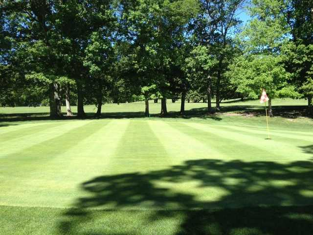 A view of the 2nd hole at Rolling Oaks Golf Course
