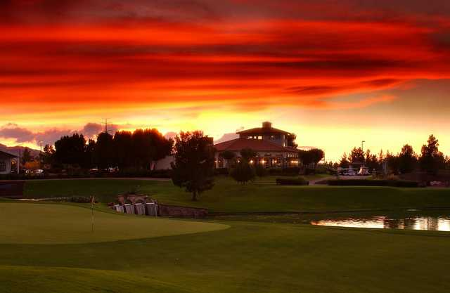 A view of the clubhouse at Raven Golf Club - Phoenix