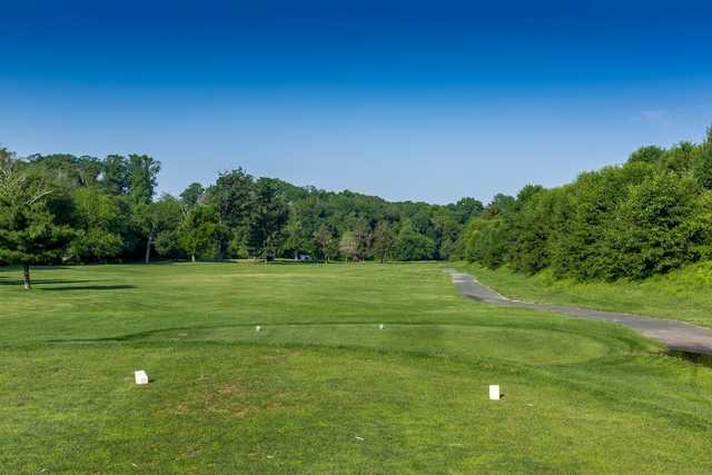A view from a tee at Ron Jaworski's Valleybrook Country Club