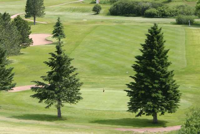 A view of a green at Boulder Canyon Country Club