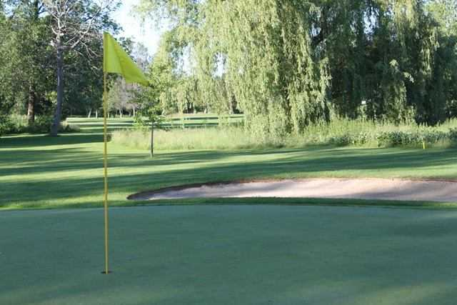A view of a hole at Harbour View Golf and Country Club