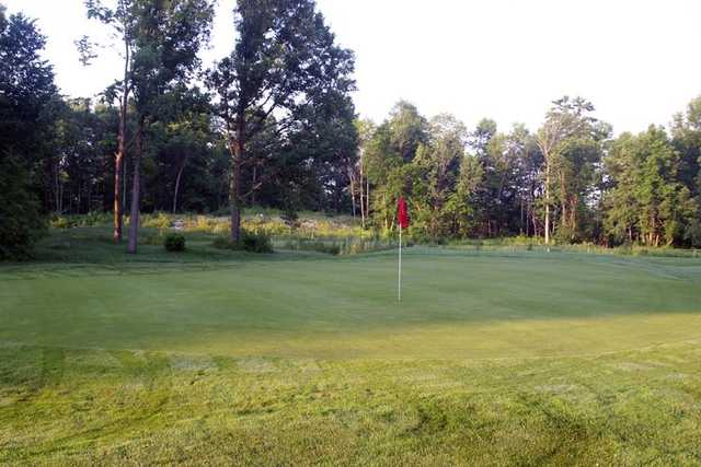 A view of the 3rd hole at Twisted Pines from Madawaska Golf Course