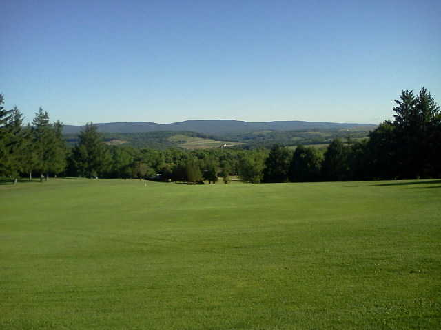 A view of the 4th fairway at Ridgeview Golf Course