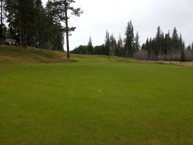 A view from Trickle Creek Golf Course