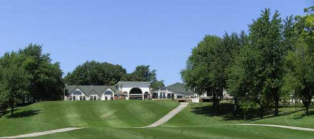 A view from a fairway at Hickory Hills Country Club