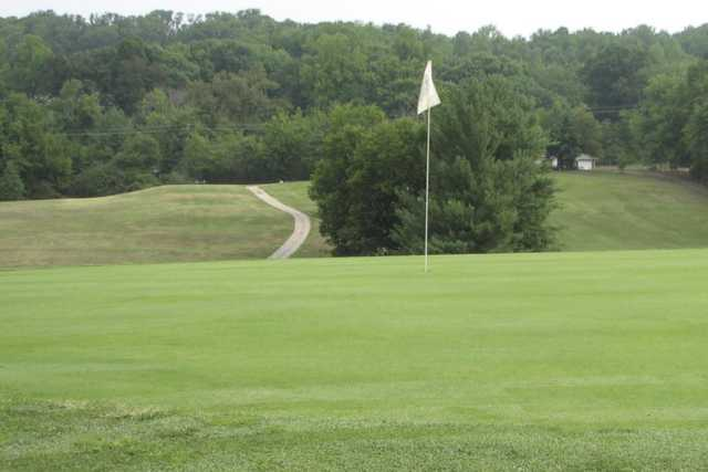 A view of a hole at Whittle Springs Golf Course
