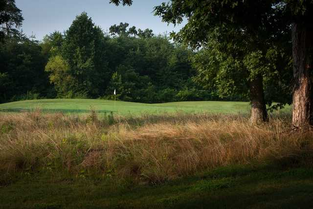 A view of a hole at Knoxville Golf Course