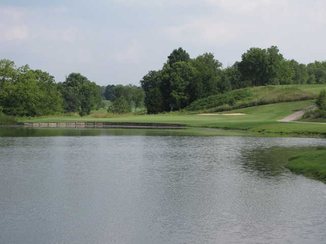 A view over the water from Ruggles Ferry Golf Club