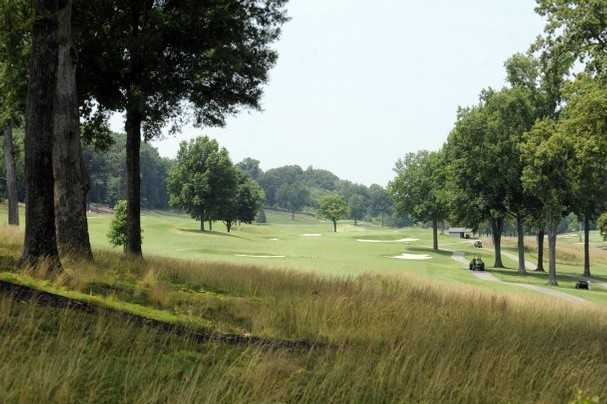 A view of a fairway at Cherokee Country Club