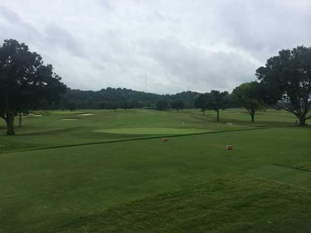 A view from a tee at Holston Hills Country Club