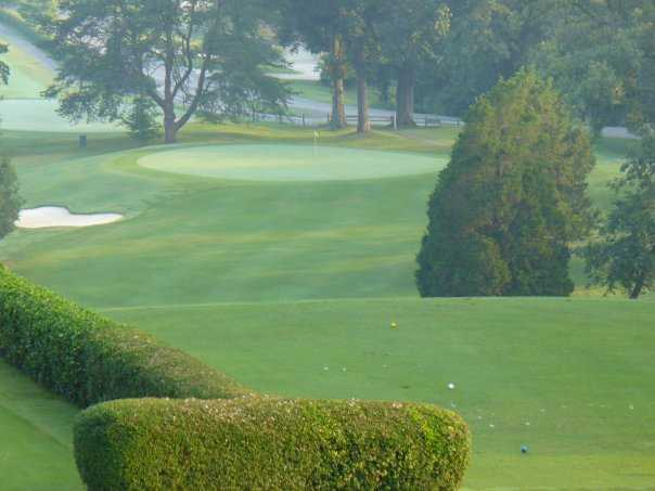 A view from the 10th tee at Beaver Brook Golf & Country Club