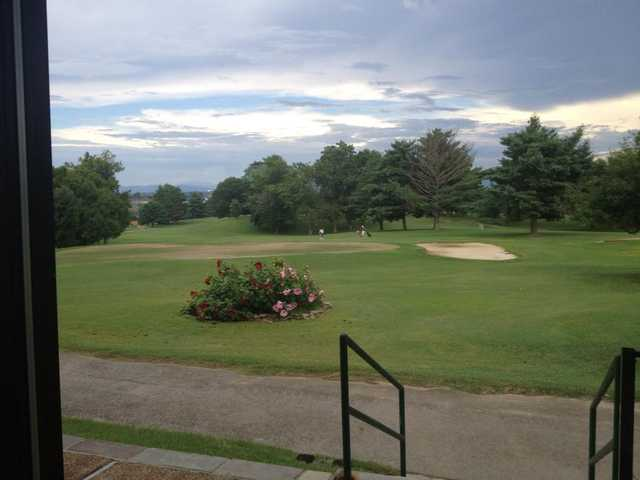 A view from Green Meadow Country Club