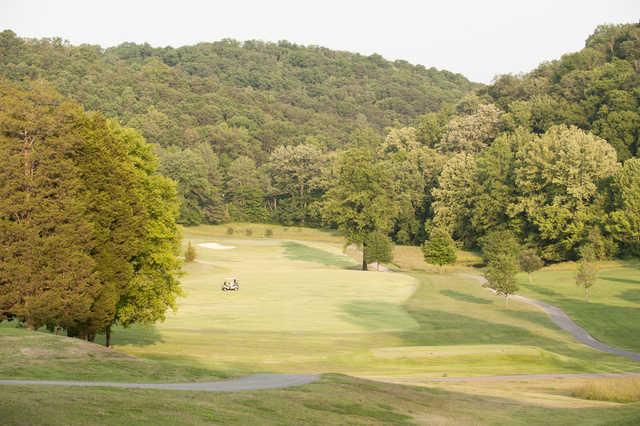 A view of a fairway at Oak Ridge Country Club