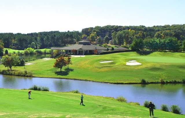 A view from Tanasi Golf Club.