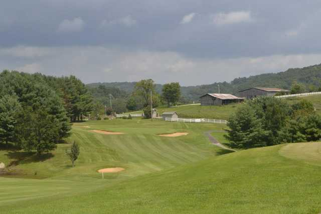 A view from a tee from Greens at Deerfield