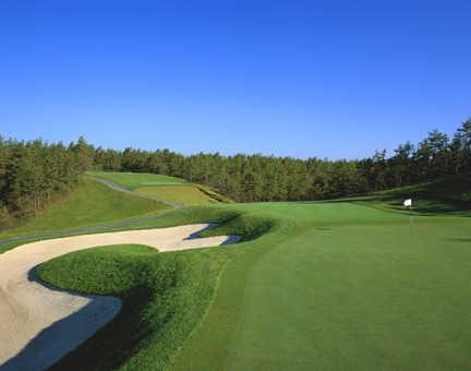 Pinehills Golf Club's Jones course - View from No. 7