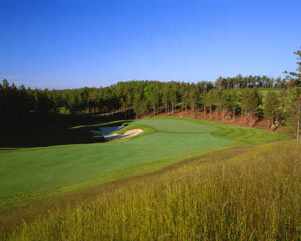 Pinehills Golf Club's Jones course - View from No. 4