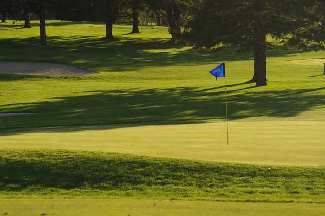 A view of a hole at Faribault Golf & Country Club