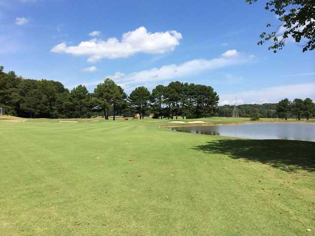 A view of a fairway at Terri Pines Country Club