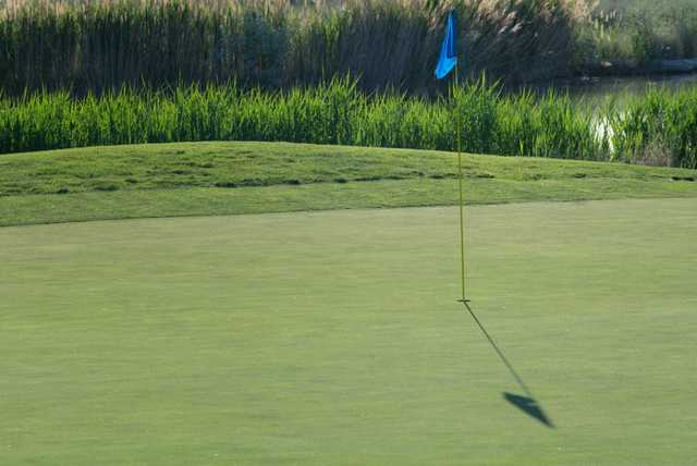 A view of a hole at Stonebridge Golf Club