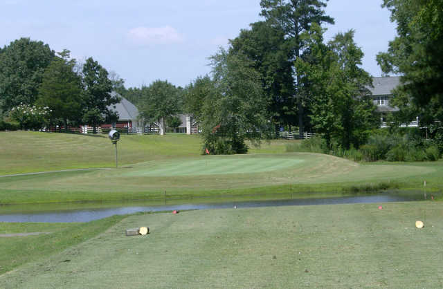 A view from tee #14 at Spring Lakes Golf Club