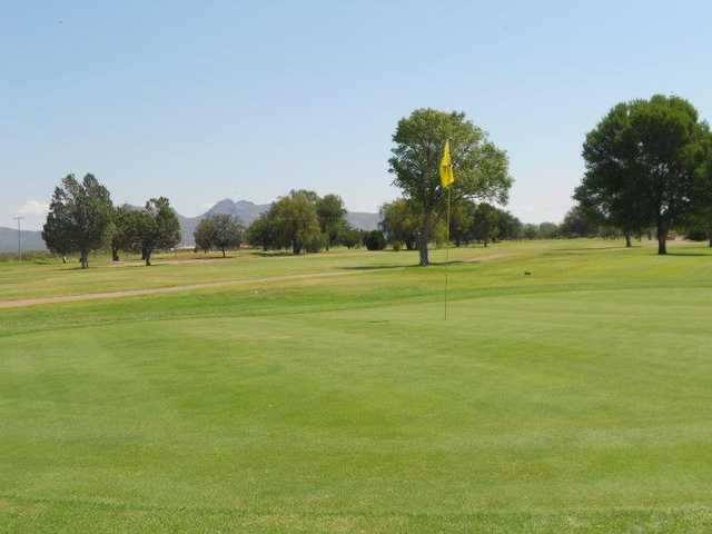 A view of a hole at City of Douglas Golf Course
