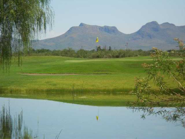 A view over the water from City of Douglas Golf Course