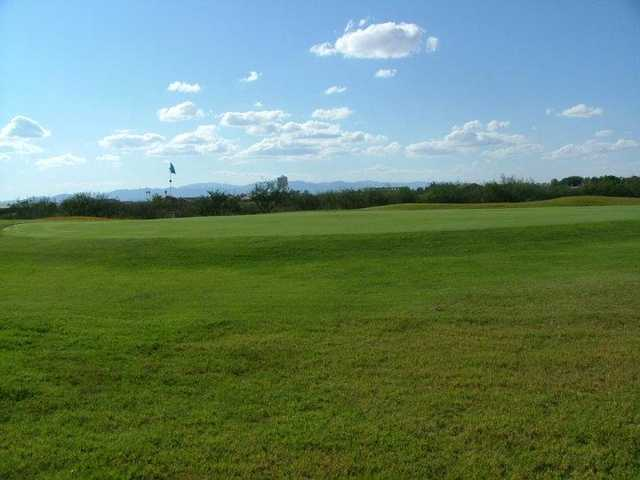 A view of a green at City of Douglas Golf Course