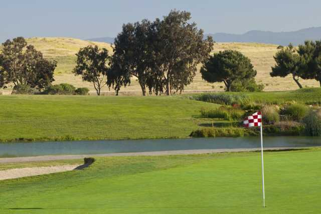 A view of a hole from Shoreline Golf Links at Mountain View